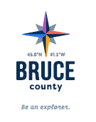 Bruce County Logo with Tagline on White