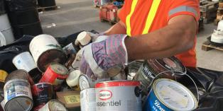 hazardous waste collection at Bruce County