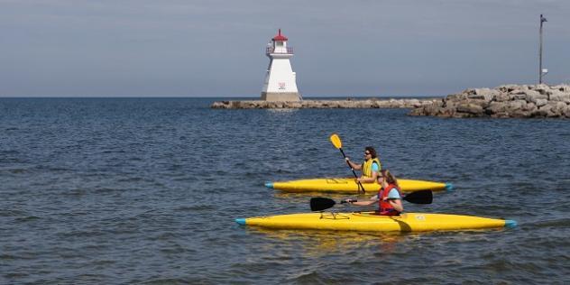 kayak to work